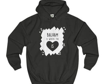Balham Is Where The Heart Is Hoodies/Sweaters/T-Shirt