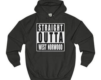 Straight Outta West Norwood T-Shirts/Sweaters/Hoodies