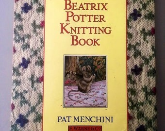 Beatrix potter knitting book / knitting / sewing / peter rabbit / art and crafts / gifts  / books / childrens books / birthday / mothersday