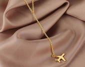 Take me Away - Airplane Necklace *FREE SHIPPING*