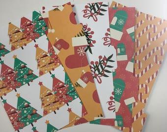 Christmas Morning - Planner dividers, personal planner dividers, planner accessories, planner decoration, filofax, kikki k, color crush