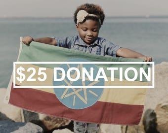 25 Dollar Donations
