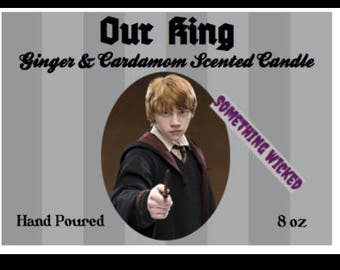 Harry Potter | Ron Weasley | Inspired Candle