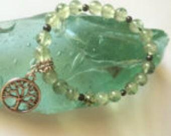 Prehnite Crystal Bracelet