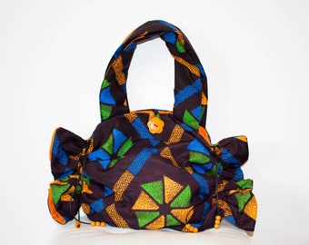 African fabric bag/purse