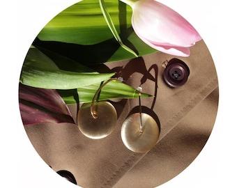 Drop earrings, gold earrings, minimal earrings, brushed gold earrings, vintage earrings, Christmas earrings, minimalist earrings, geometric