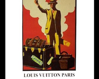 Fairchild Paris Louis Vuitton Vintage Ad