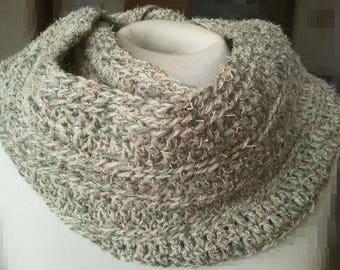 """Loop scarf """"Mouline '"""""""