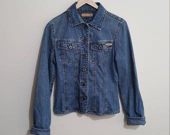 Women's vintage Tommy Hilfiger denim jacket