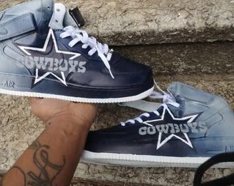 93073aa59fbb9f Nike Shoes With Dallas Cowboy Star Black Dallas Cowboy Star Logo ...