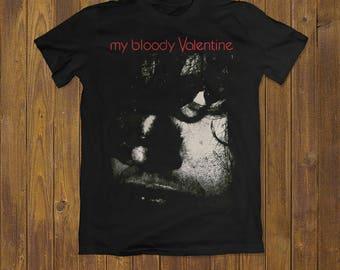 My Bloody Valentine Tshirt Kevin Shield Tshirt Unisex Music Tshirt Shoegaze  Tee Band Tees