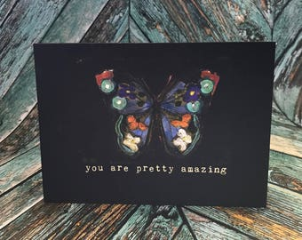 5x7 You Are Pretty Amazing Greeting Card