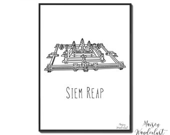 Picture / poster - ANGKOR WAT - Siem Reap, Cambodia