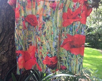 Poppies shirt