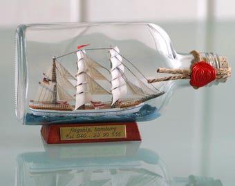 Bottle ship Gorch Jib