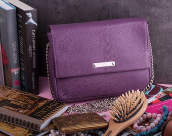 Leather clutch Bridesmaid gift Gift for her Leather crossbody bag Leather crossbody Leather satchel Crossbody bag Gift for women Handbag