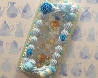 iPhone 6/6s - Rilakkuma Glitterfall Case