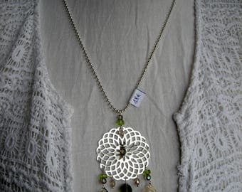 "Necklaces ""Duvent in leaves"""