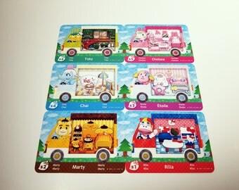 Animal Crossing Sanrio x Hello Kitty Amiibo Marty Chelsea Rilla Etoile Chai Toby Fanmade