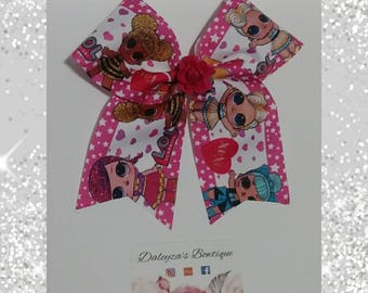 Lol Surprise doll cheer bow, lol surprise doll bow, lol doll bow, lol cheer bow, lol surprise doll, lol bow