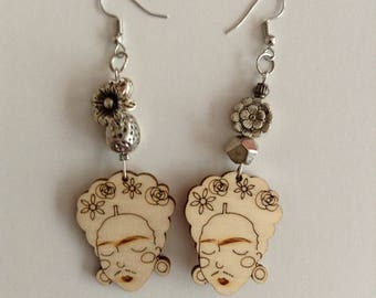Frida Kalho Earrings