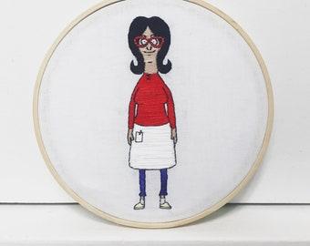 Linda Belcher Hand Embroidery
