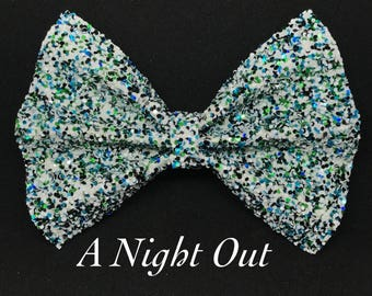 A Night Out- Glitter Bow