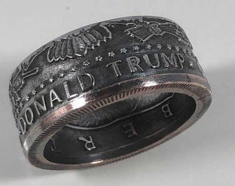 2016 Donald Trump  United States of America Coin Ring