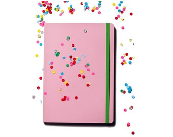 Colour pop A5 notebook