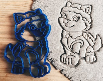 Paw patrol Everest Cookie Cutter