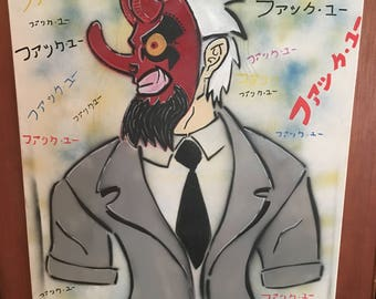 Tengu businessman