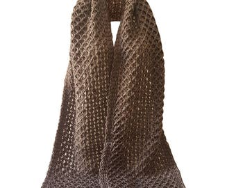 Hand Knit Scarf- Made in Italy