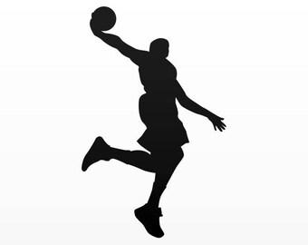 Decals Sticker Basketball Slam Dunk Store Weatherproof 02004