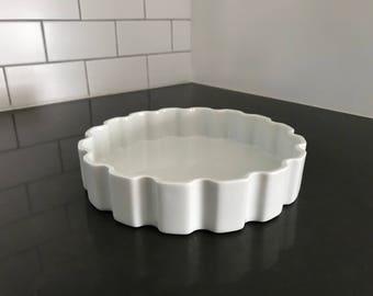 Quiche Dish, Made in France, Rare Design