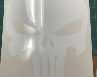Punisher Skull 15 Year Indoor / Outdoor Custom Vinyl Decal