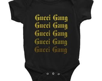 GUCCI GANG Babies Onesie