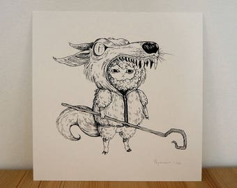 The Halloween Bestiary Project - The Wolf