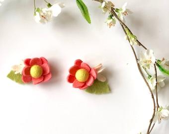 Mini Flower Pigtail set