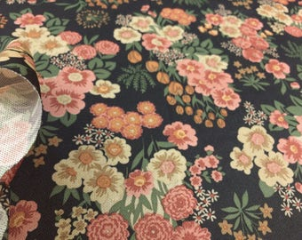 Vintage fabric Fabric Flower Power 50x 160cm 70s