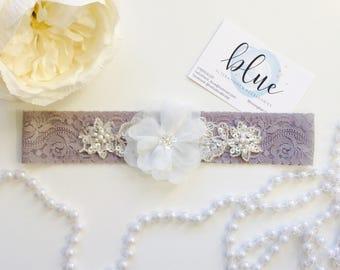 Clarissa Bridal Garter Wedding Handmade