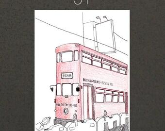 A4 Art Print / Hong Kong Moment Series