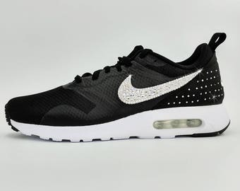 Custom Swarovski Nike Air Tavas / Black