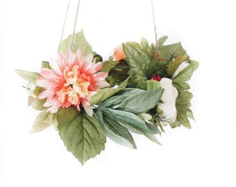 Custom Hanging Floral Centerpiece