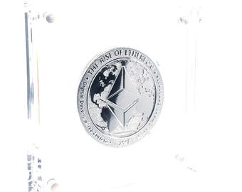 Limited Edition Silver Ethereum Coin
