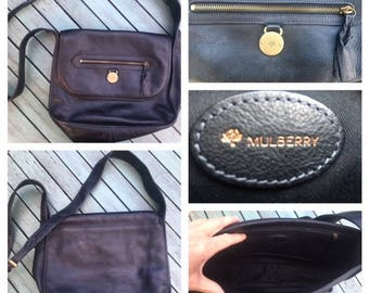 Mulberry vintage crossbody leather bag