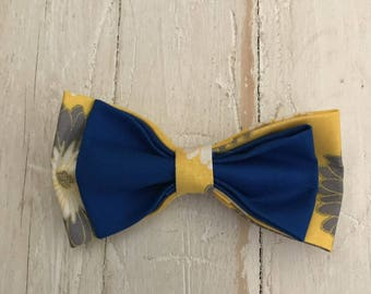 4 1/2 Inch Layered Fabric Hair Bow