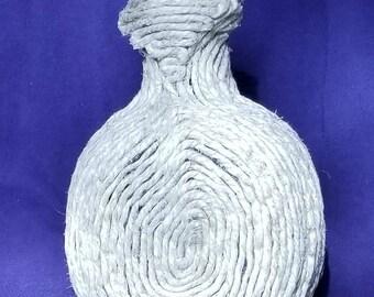 Hemp Wrapped Vase