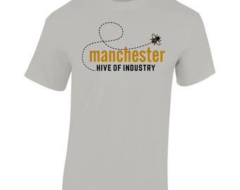 Heather Grey T-Shirt (Buzz Bee)