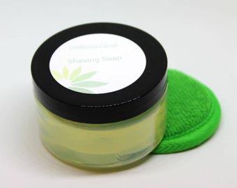 French Green Clay Shaving Soap