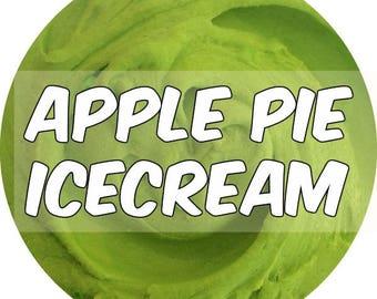 Apple Pie Icecream Slime : Creamy Butter Texture , Scented Apple Pie